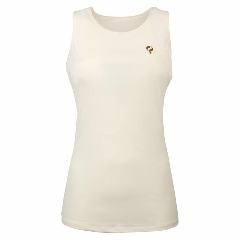 Women's Tanktop Brush Q Snow White