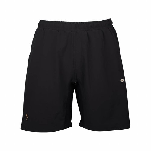 Heren Woven Short Q Blue Graphite