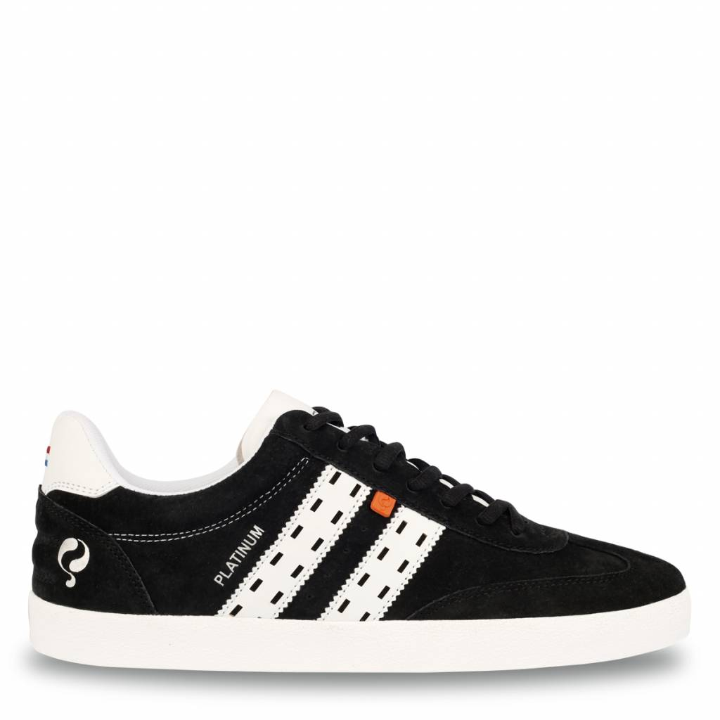 Heren Sneaker Platinum Black / White
