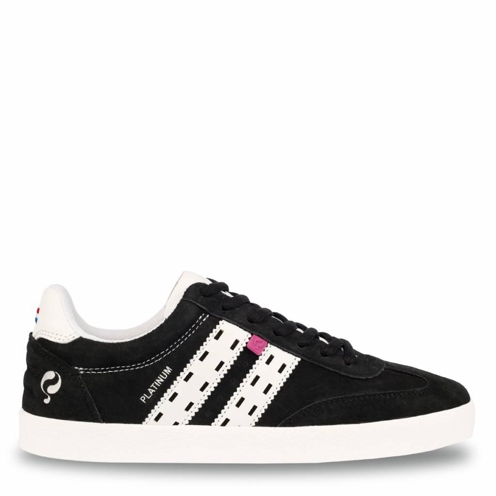Dames Sneaker Platinum Lady Black White te koop