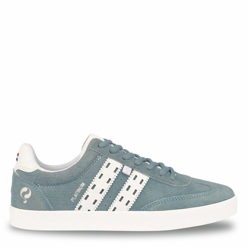 Women's Sneaker Platinum Lady Sky Blue / White