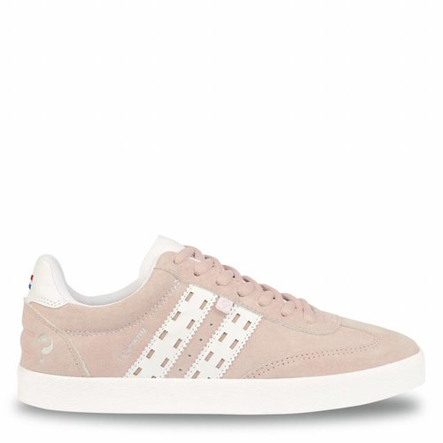Women's Sneaker Platinum Lady Violet Rose / White