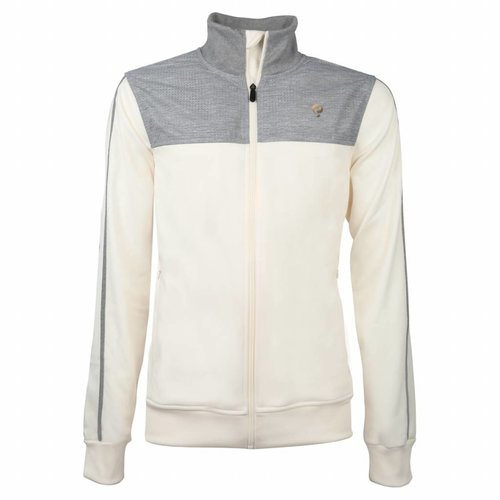 Heren Tech Jacket Q Snow White