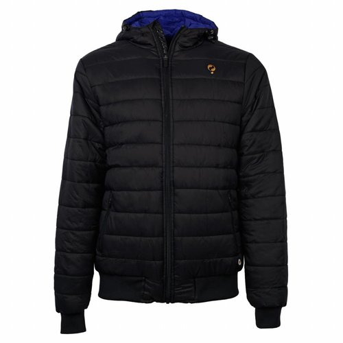 Heren Padded Jacket Q Blue Graphite