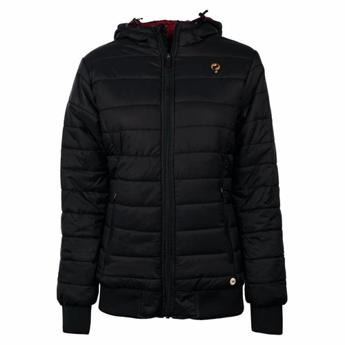 Dames Padded Jacket Q Blue Graphite