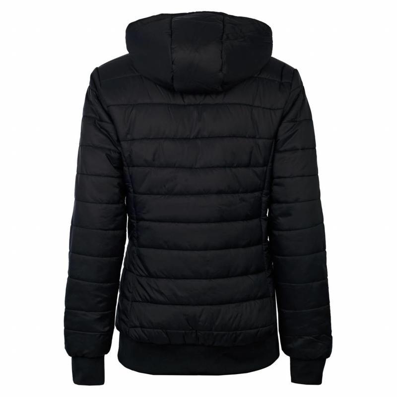 Dames Padded Jacket Q Blue Graphite