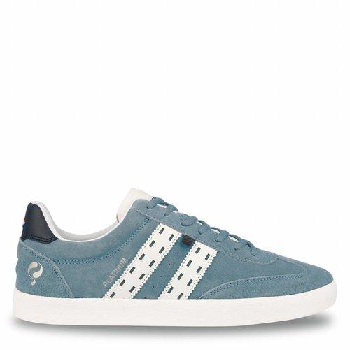 Heren Sneaker Platinum Sky Blue / White