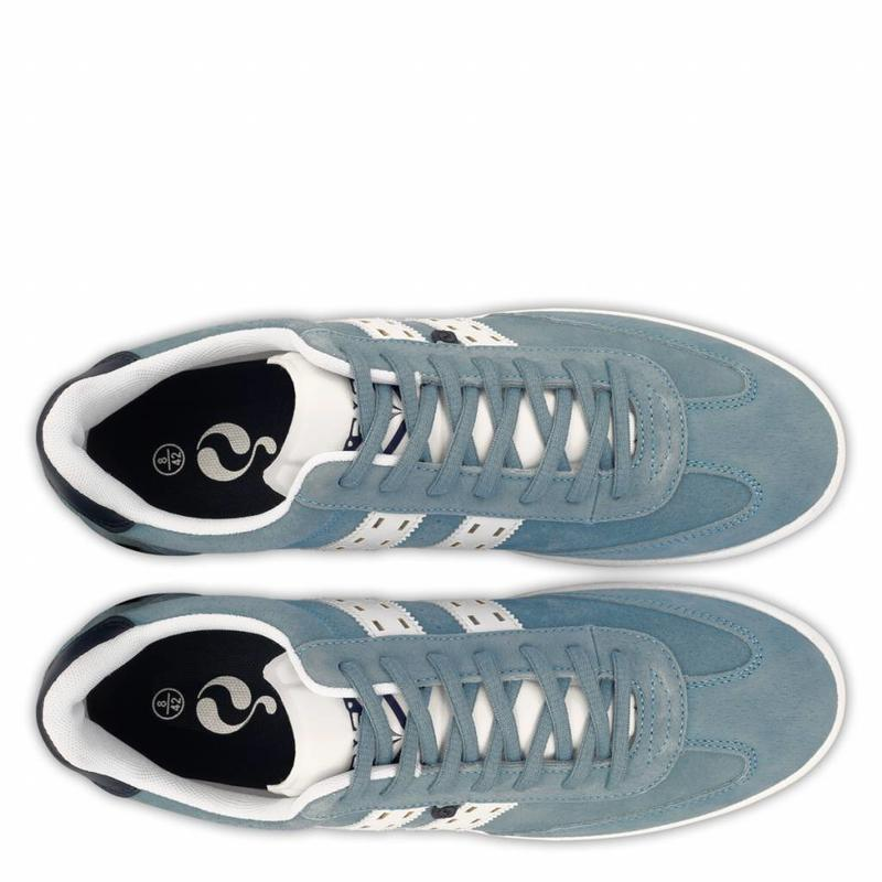 Heren Sneaker Platinum Sky Blue / White