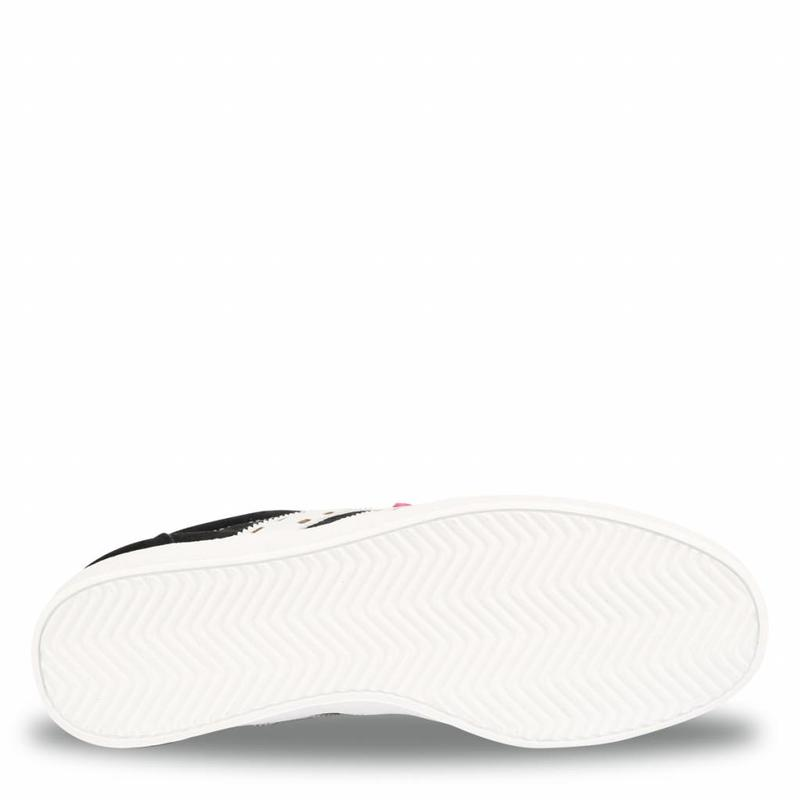 Dames Sneaker Platinum Lady Black / White