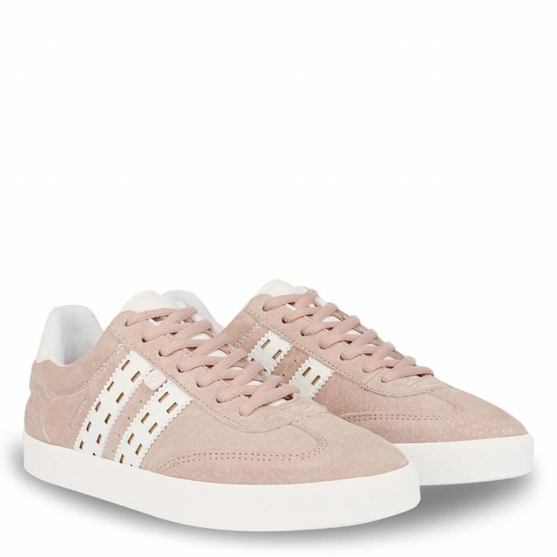 Dames Sneaker Platinum Lady Violet Rose / White