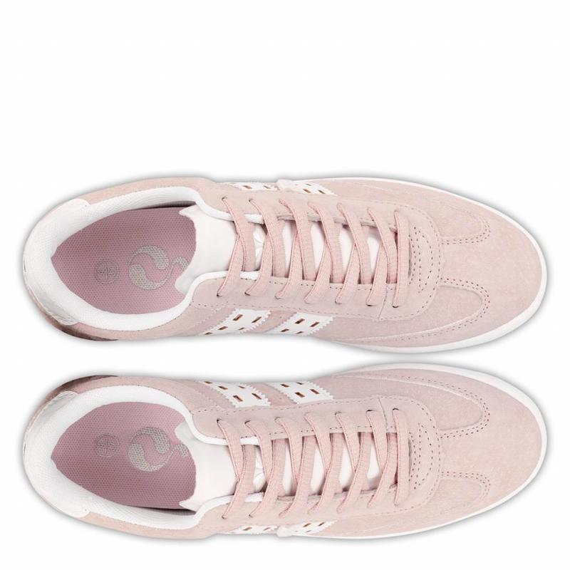 Women's Sneaker Platinum Lady Violet Rose / White