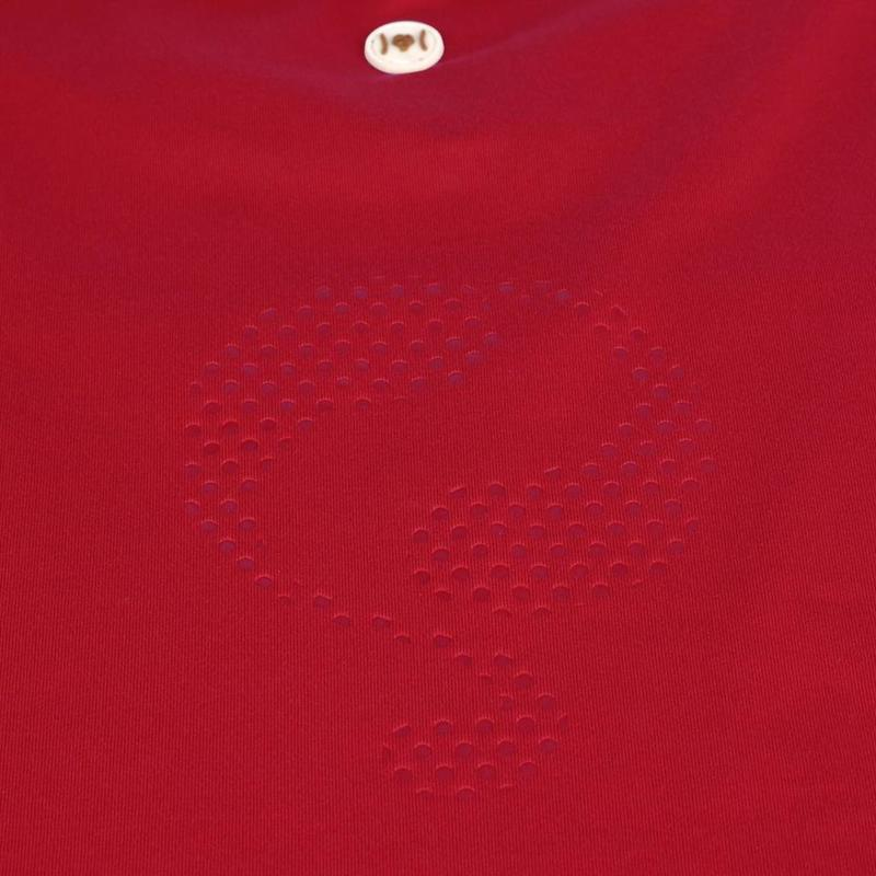 Men's Tee Brush Q Poinsettia