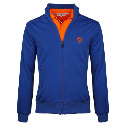 Heren Jacket Kelton Kobalt Orange 5cm