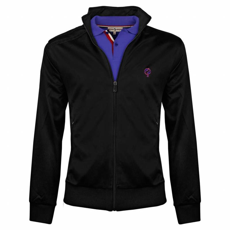 Heren Jacket Kelton Black Dazzling Pink