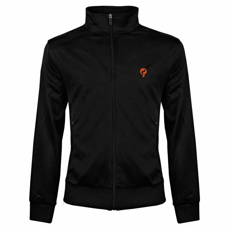 Heren Jacket Kelton Black Orange