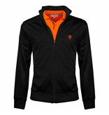 Men's Jacket Kelton Black Orange - Copy