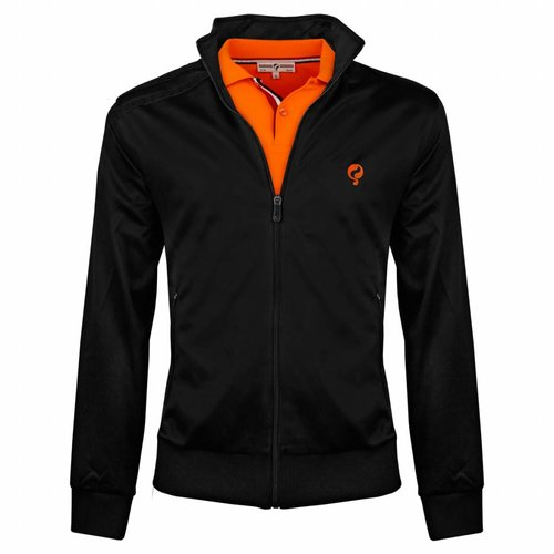 Heren Jacket Kelton Black Orange