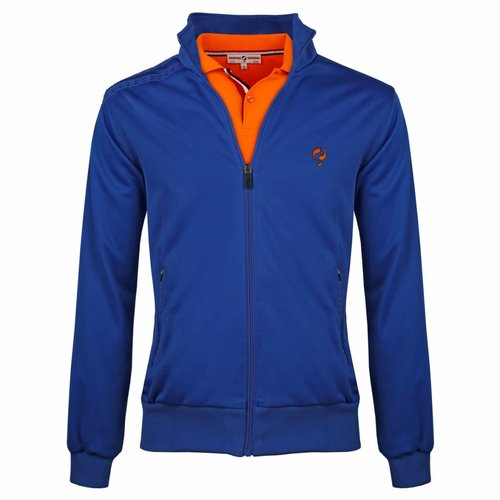 Heren Jacket Kelton Kobalt Orange/Navy