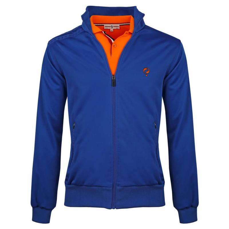 Heren Jacket Kelton Kobalt Orange/Navy