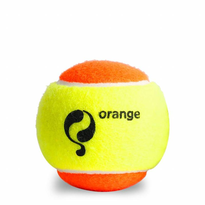 Q-Tennis Ball ST2 3pcs/can Yellow-Orange