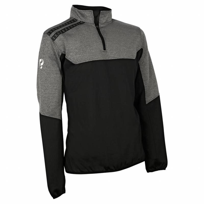 Heren Sweater Vreven Zwart / Grijs / Wit