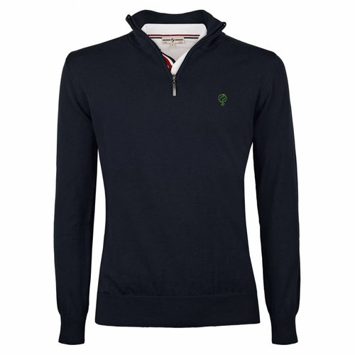 Men's Pullover Half Zip Stoke Deep Navy