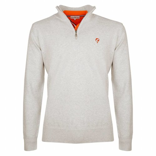 Heren Pullover Half Zip Stoke Greyhound
