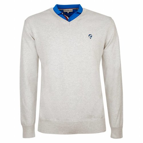Heren Pullover V-neck Marden Greyhound
