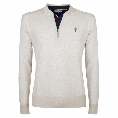 Heren Pullover Half Zip Chester Greyhound