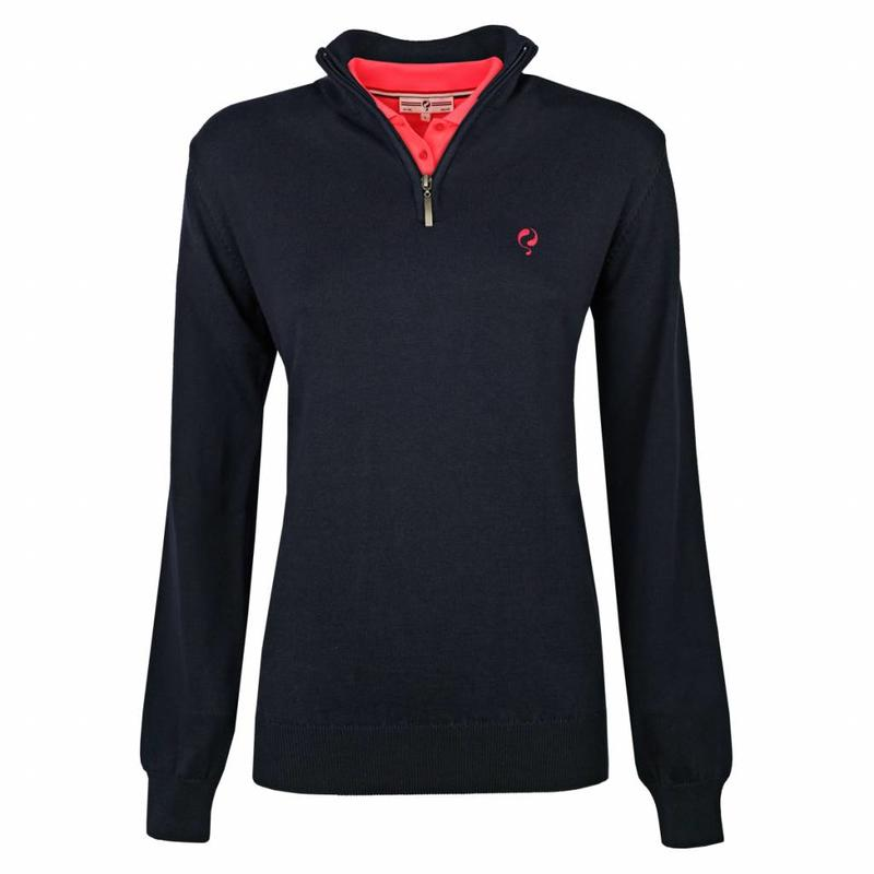 Women's Pullover Half Zip Bellwood Deep Navy