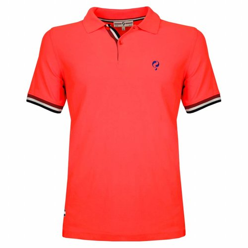 Men's Polo Joost Luiten Fiery Coral