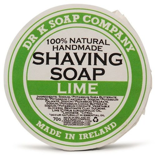 Dr K Soap Company Scheerzeep Lime 70 gr.