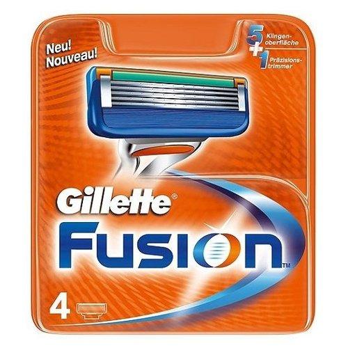 Gillette Fusion Scheermesjes 4 stuks