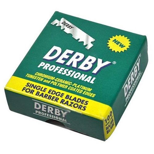 Derby Single Edge Scheermesjes 100 stuks