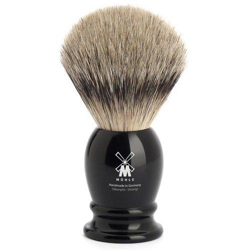 Muhle Scheerkwast Silvertip Classic Zwart