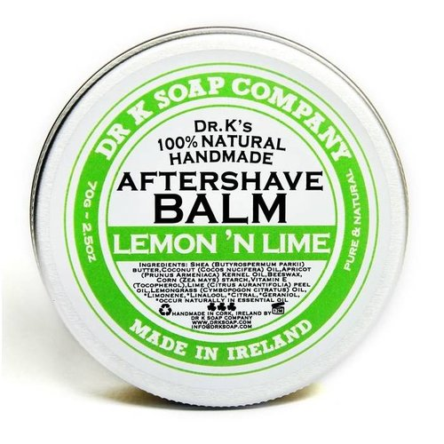 Dr K Soap Company Aftershave Balm Lemon 'n Lime 70 gr.