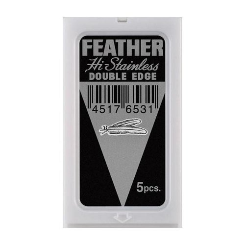 Feather Double Edge Scheermesjes 5 stuks