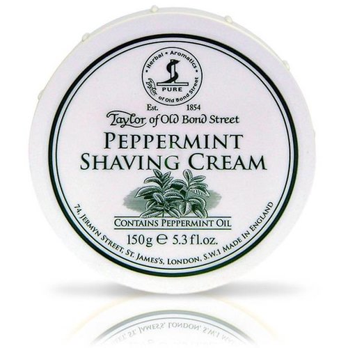Taylor of Old Bond Street Scheercrème Peppermint