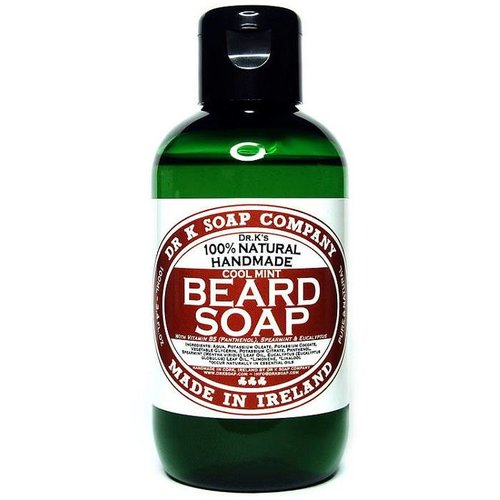 Dr K Soap Company Baardzeep Cool Mint 100 ml