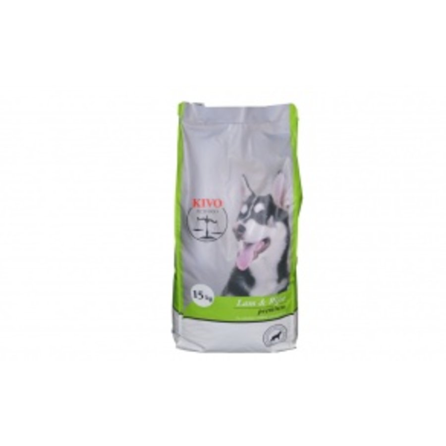 Kivo lam en rijst 15kg-1