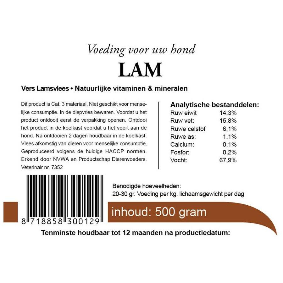 Kivo vers vlees lam 500 gram