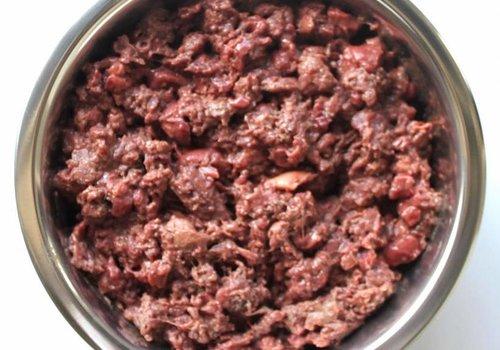 Kivo petfood natuurlijk hondenvoer Kivo lam compleet vers vlees