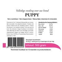 Kivo puppy vers vlees 1000 gram