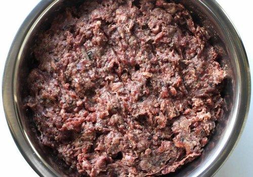 Kivo petfood natuurlijk hondenvoer Kivo puppy compleet 500gr