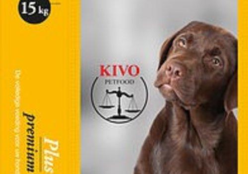 Kivo petfood natuurlijk hondenvoer Kivo plus brokken 15kg