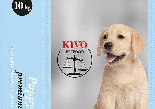 Kivo petfood natuurlijk hondenvoer Kivo puppy brokken premium  10kg