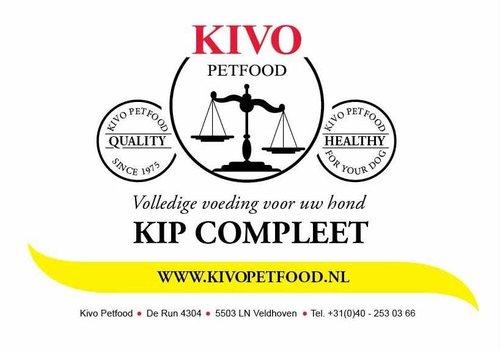 Kivo petfood natuurlijk hondenvoer Kivo kip compleet vers vlees