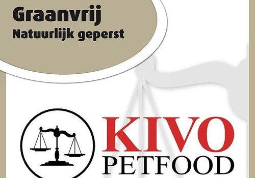 Kivo petfood natuurlijk hondenvoer Kivo graanvrij persbrok