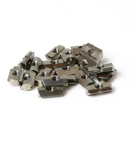 MakerBeam - 10x10mm aluminum profile T-slot nuts for MakerBeam (25p)