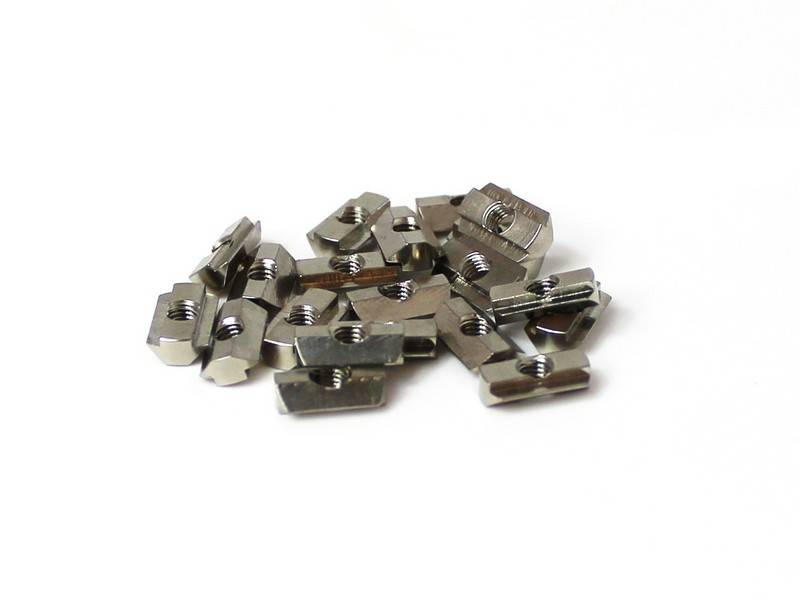 MakerBeam - 10x10mm aluminum profile 25 pieces T-slot nuts for MakerBeam